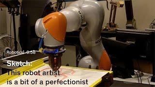 Sketch, an Artistic Robot from Stanford's Experimental Robotics Class