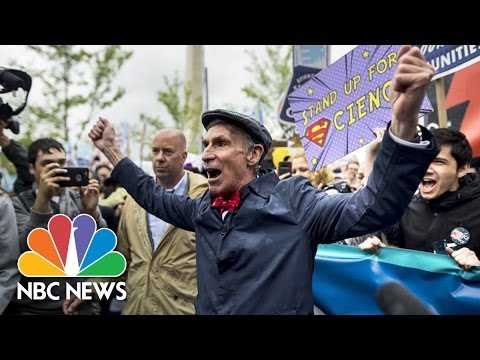 March For Science Brings Cause And Effect To Politics | NBC News