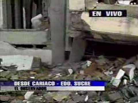 El Observador Terremoto de Cariaco 1997