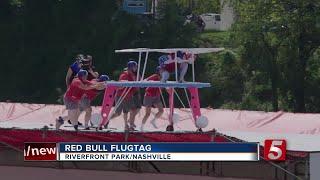 Thousands Flock To Riverfront Park For Flugtag