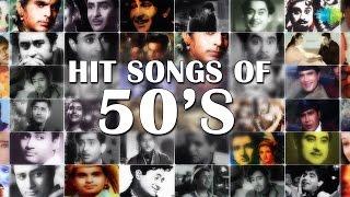 50s Hindi Songs Hits Jukebox | Khoya Khoya Chand & More Hits | Best Bollywood Songs Collection