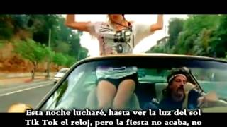 Ke$ha-Tik Tok(Traducida Español)Official Video