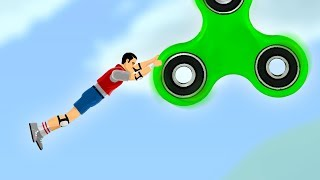 HOW FAR CAN YOU FLY WITH A FIDGET SPINNER?