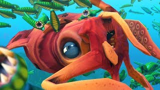 GIANT SQUID vs 100 VAMPIRE LEECHES - Feed and Grow Fish - Part 108 | Pungence