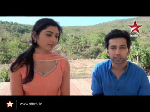 Aditya and Pankhuri share their favourite scene from their show