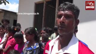Man from Galnewa who makes a village for beggars