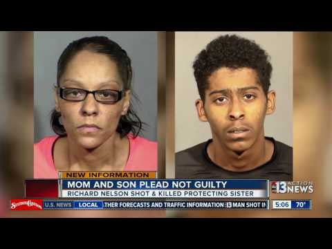 Xxx Mp4 Mom Son Plead Not Guilty In Death Of Football Player 3gp Sex