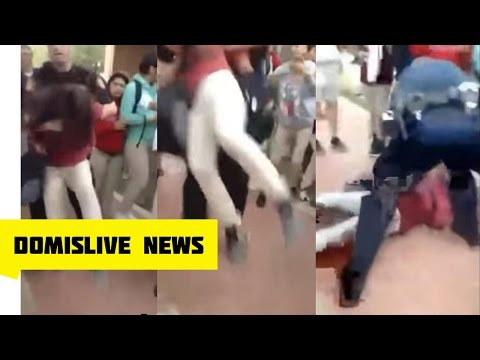 San Antonio Police Officer Body Slams 12 Year Old Middle School Girl On Concrete Floor (Video)