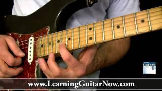Eric Clapton Slow Blues Guitar Lesson