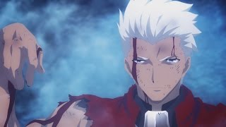 Archer vs Lancer - Full Fight HD | Fate stay night Unlimited Blade Works