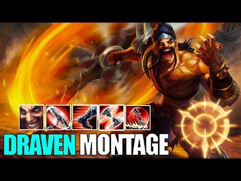Draven Montage 9 - Best Draven Plays 2018   League Of Legends Mid