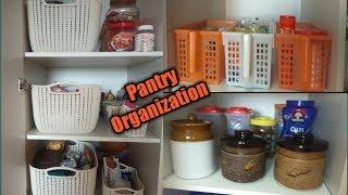Pantry Organization || Kitchen Pantry Organization
