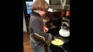 August making eggs