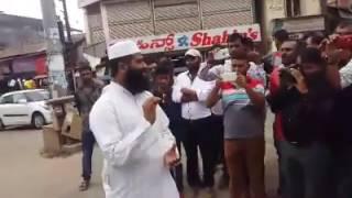 Kasargod Riyas musliyar problem afsal qasimi speech in sdpi march koduGU...