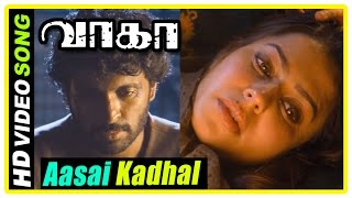 Aasai Kadhal song | Wagah Tamil movie scenes | Vikram Prabhu arrested by Pakistan army | Ranya