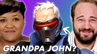 Parents Guess Overwatch Hero Names