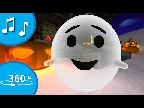 360 video Happy halloween song for kids from tinyschool Trick or treat