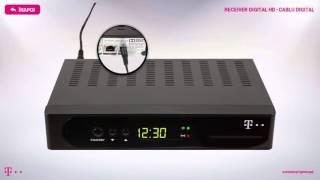 Receiver Digital HD – Cablu digital