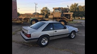 1991 Mustang 5.0 LX Hatch...SilverCar..Cam Install Fox Body Budget Drag Car