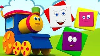 Bob el tren | Videos para niños | Aprender colores | Bob Train Color Ride | Educational Video