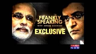 PM Modi on Frankly Speaking with Arnab Goswami | Exclusive Full Interview