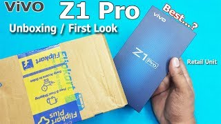 Vivo Z1 Pro Unboxing / First Look || Vivo Z1 Pro Specifications - Indian Unit