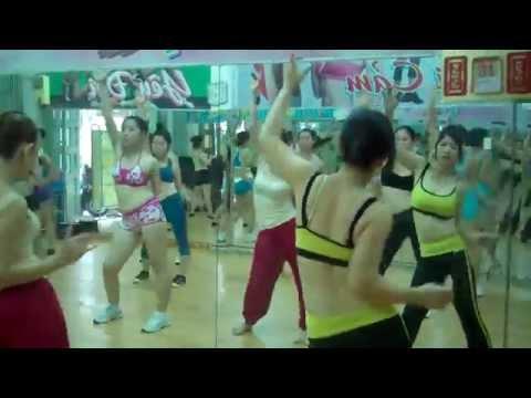aerobics the duc tham my clb Nhu Y hdv Cam Tuyet