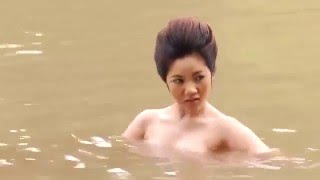 Thai Celebrity Nude Bathing In The River