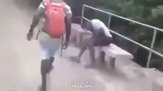انها افريقيا يا سادة !!!  فيديو حصري من الموزمبيق الشقيقة