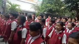 Sosialisasi Gizi Seimbang dan 10 Tanda Anak Bergizi Baik Oleh Dokcil SD NO. 3 LEGIAN