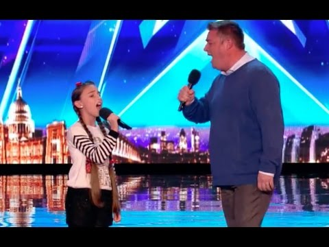 Xxx Mp4 Father And Daughter Opera Duo Blow Everyone Away Audition 4 Britain S Got Talent 2017 3gp Sex