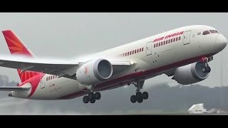 (1080p50) Rainy Morning Departures ● Plane Spotting at Melbourne Airport - July 2016