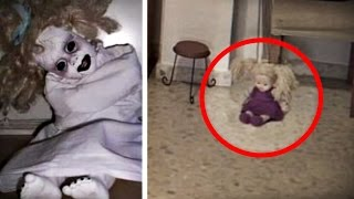 5 Haunted Dolls Caught on Camera Moving