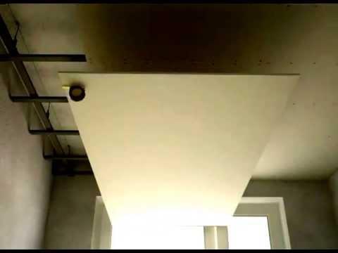 Knauf gipso kartono lubų montavimas