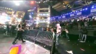 Scott Steiner Attacks the Crowd in India! Ring Ka King TNA