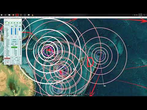 1 17 2019 Wide spread of Earthquakes across whole USA Pacific unrest shows clusters