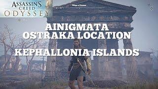 Ainigmata Ostraka Locations: Kephallonia Islands - Assassin's Creed Odyssey