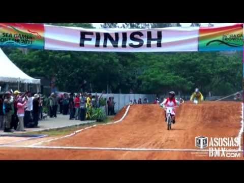 The 26th SEA GAMES 2011 BMX Supercross THE FINAL