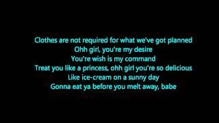 Our First Time Bruno Mars Lyrics