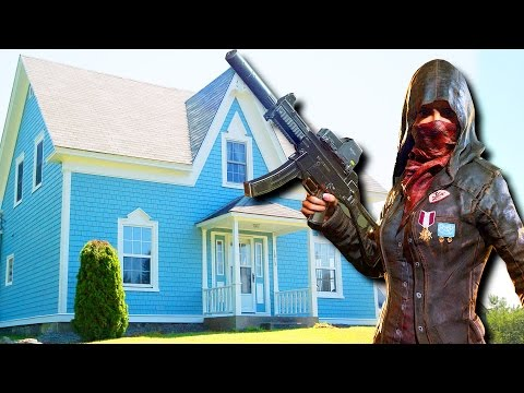 DEFEND THE HOUSE! - Player Unknown's Battlegrounds