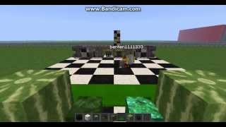 I suck at chess... Minecraft chess with ben!