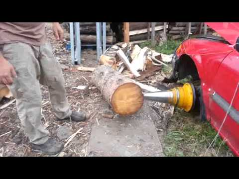 My Stickler Wood Splitter