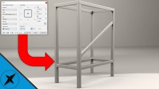 Frame Generator Tutorial (Beginner) as Fast as I Can | Autodesk Inventor