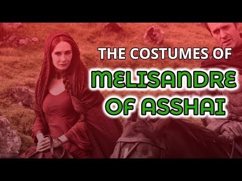 The Costumes Of Melisandre (Game of Thrones)