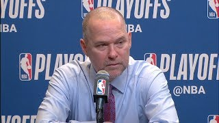 Mike Malone Postgame Interview - Game 6 | Nuggets vs Spurs | 2019 NBA Playoffs