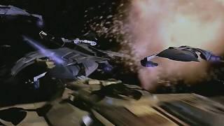 Star Trek: DS9 - massive starship battle! HQ