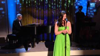 """Idina Menzel & Marvin Hamlisch perform """"What I Did For Love"""""""