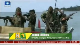 Niger Delta Avengers Announce End Of Ceasefire | Network Africa |