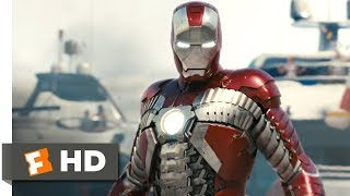 Iron Man 2 (2010) - Suitcase Suit Scene (4/5) | Movieclips