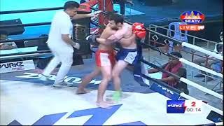 Puth Chhayrithy, Cambodia Vs Kev Kongvan, Thai, Khmer Boxing 7 october 2018